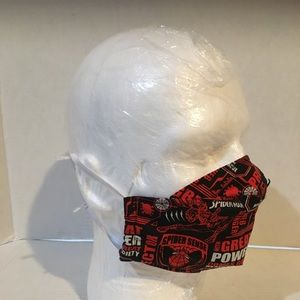 Spiderman cotton facemask, Spiderman face shield.